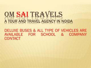 Best Tour and Travels Company in India