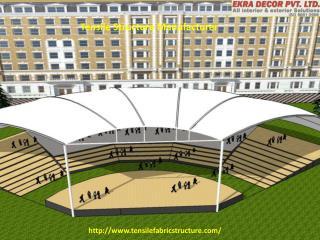 Tensile Structure  Auditorium Tensile Structure