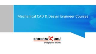 CAD Training Courses in Pune