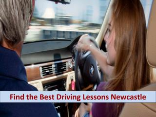 Find the best driving lessons Newcastle