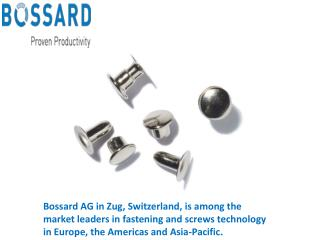 Bossard Group Industrial Products