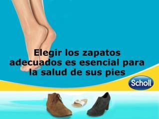 Elegir los zapatos adecuados es esencial para la salud de sus pies
