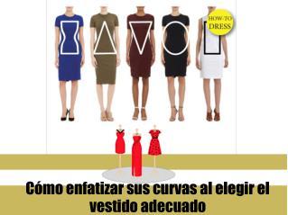 Cómo enfatizar sus curvas al elegir el vestido adecuado