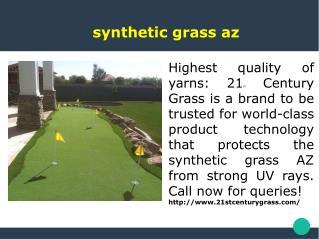 synthetic grass az