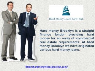 Hard Money Loan Brooklyn