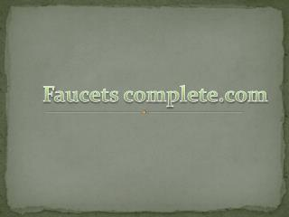 faucetscomplete