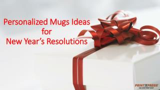 Personalized Coffee Mugs Ideas for New Year's Resolutions