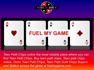 Teen patti chips