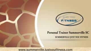 Personal Trainer Summerville SC