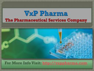 Manufacturing of Better Liquid Oral Solution At VxP Pharma