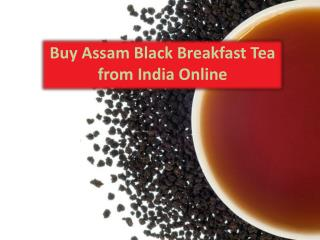 Buy Assam Black Breakfast Tea from India Online