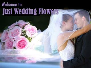 Docorate Your Bridal Table with Just Wedding Flowers