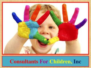 Consultants for Children, Inc