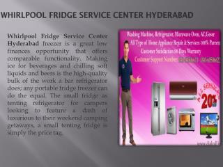 Whirpool Fridge Service Repair Center Hyderabad Secunderabad