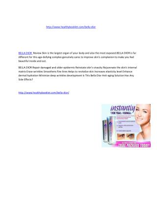 http://www.healthybooklet.com/bella-dior/