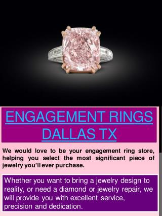 Wedding Rings Dallas