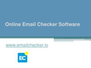 Online Email Checker Software - www.emailchecker.io
