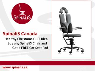 2016 Healthy Christmas GIFT Ideas Buy SpinaliS Chair and Get FREE Car Seat Pad
