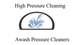 Pressure Cleaning Services in Melbourne