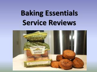 Baking Essentials Service Reviews