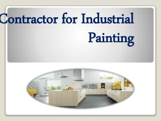 Contractor for Industrial Painting