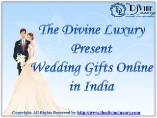 Send Unique Wedding Gifts Online in India | Get Best Wedding Gifts Ideas Online