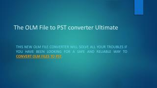 Download OLM File Converter