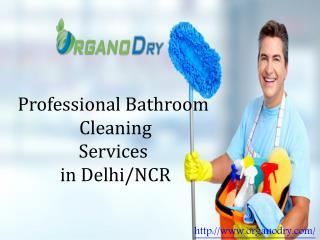 Professional Bathroom Cleaning Services in Delhi/NCR