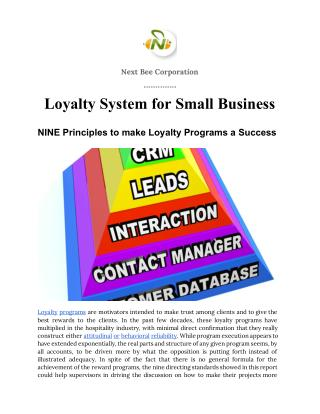 E-Book - Loyalty System for Small Business