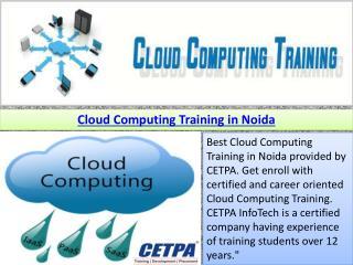 Cloud Computing Training in Noida