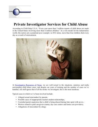 private investigators in East Texas, private investigator East Texas, private investigations company in East Texas
