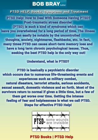PTSD HELP, Books, Symptoms and Treatment