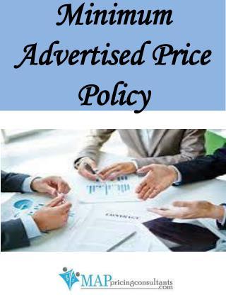 Minimum Advertised Price Policy