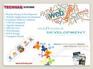 Fast & Friendly Web services company in Delhi