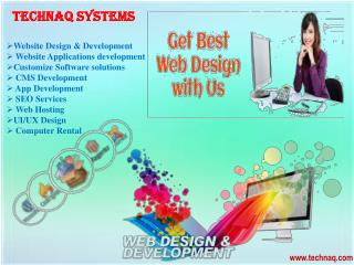 If you need service or support immediately with web services company in delhi