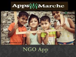Best NGO App | Nonprofit Mobile App | NGO Management System | AppsMarche
