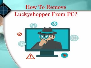 How to remove Luckyshopper from PC ?