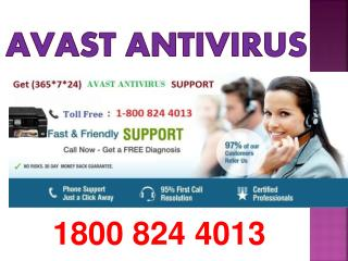 Avast Customer Support Phone Number 1800 824 4013