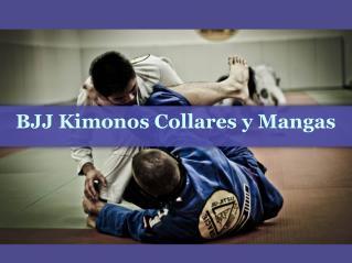 BJJ Kimonos Collares y Mangas
