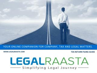 File TDS Return Online in India | LegalRaasta