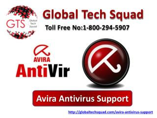 USA  Avira antivirus Tech Support Toll Free:1-800-294-5907