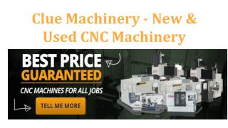 cnc machine for sale | cluemachine.com