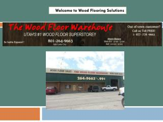 Welcome to Wood Flooring Solutions