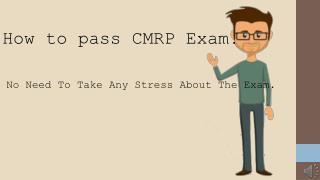 CMRP PDF