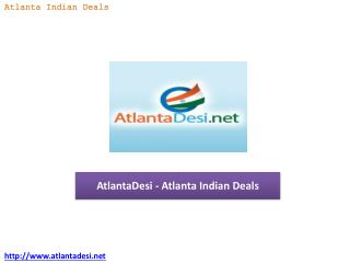 AtlantaDesi - Atlanta Indian Deals