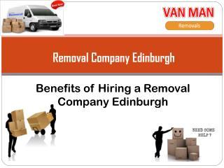 Removal company Edinburgh