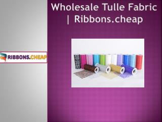 Wholesale Tulle Fabric | Ribbons.cheap