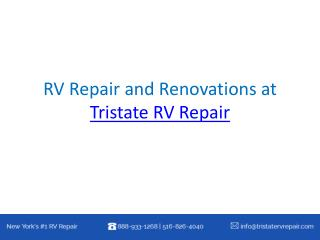 RV Repair and Renovations at Tristate RV Repair