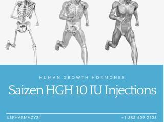 Saizen 10IU - Human Growth Hormones For Children