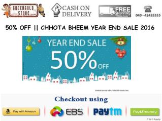 Green Gold Store Year End Sale - Flat 50% OFF